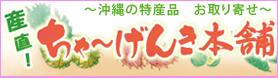 沖縄の特産品をお取り寄せ!ちゃーげんき本舗